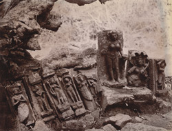 Miscellaneous sculptures and fragments from Kichang, Singhbhum District